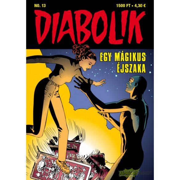 Diabolik 13.- Egy mágikus éjszaka