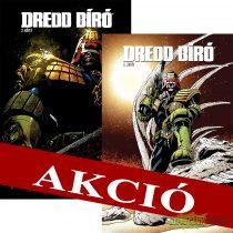 Dredd bíró felzárkóztató csomag 2-3 limitált kötetek