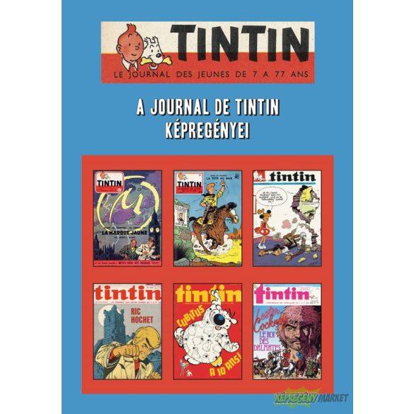 Tintin - A Journal De Tintin képregényei - szakkönyv