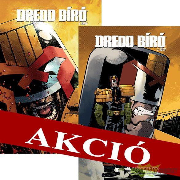 Dredd bíró felzárkóztató csomag 2-3 normál kötetek