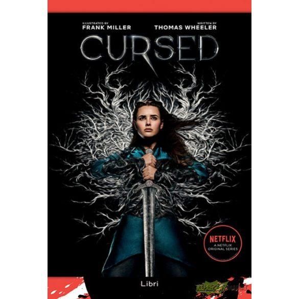 Cursed - Átkozott  -  illusztrált könyv