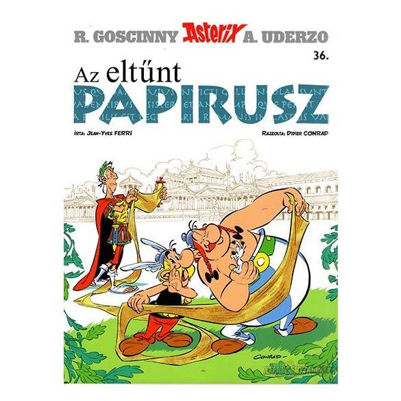 Asterix 36. - Az eltünt Papirusz