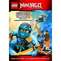 Lego Ninjagou - A légi kalózok támadása - Matricás foglalkoztatókönyv