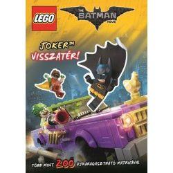 Lego Batman - Joker visszatér - 200 matricával