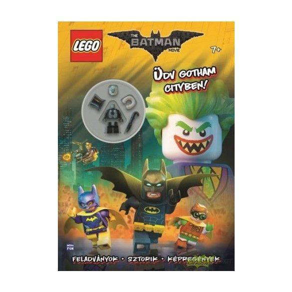 Lego Batman - Üdv Gotham Cityben! - foglalkoztatókönyv ajándék minifigurával