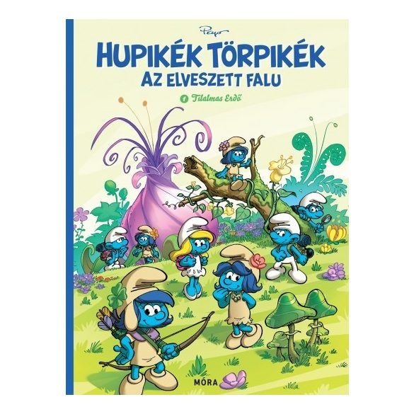 Hupikék Törpikék - Az elveszett falu
