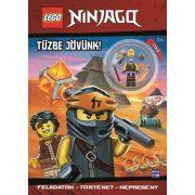 Lego Ninjago - Tűzbe jövünk!