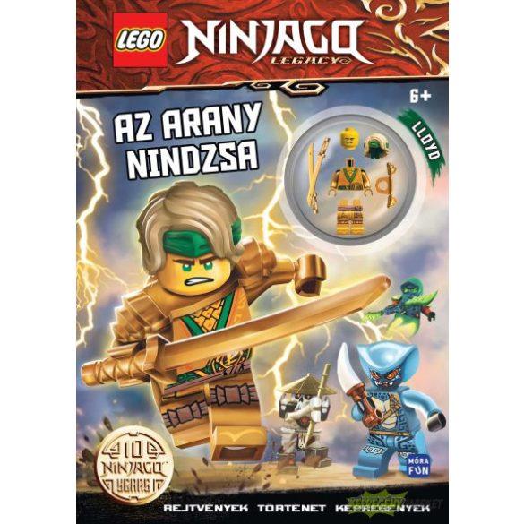 Lego Ninjago - Az arany nindzsa foglalkoztatókönyv