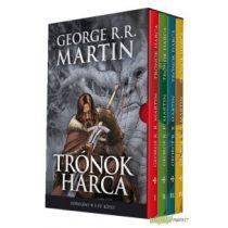 Trónok Harca I-IV.kötet+díszdoboz