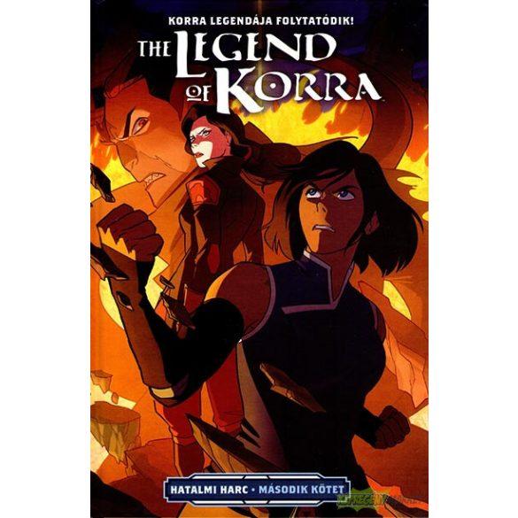 Korra legendája  - Hatalmi harc 2.kötet