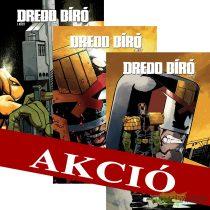 Dredd bíró felzárkóztató csomag 1,2,3 normál kötetek