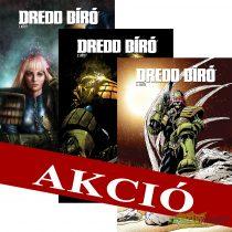 Dredd bíró felzárkóztató csomag 1,2,3 limitált kötetek