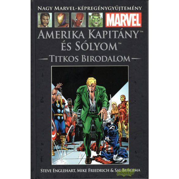 Amerika Kapitány és Sólyom - Titkos birodalom
