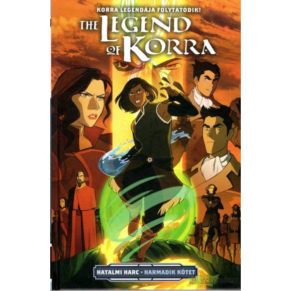 Korra legendája - Hatalmi harc 3.kötet