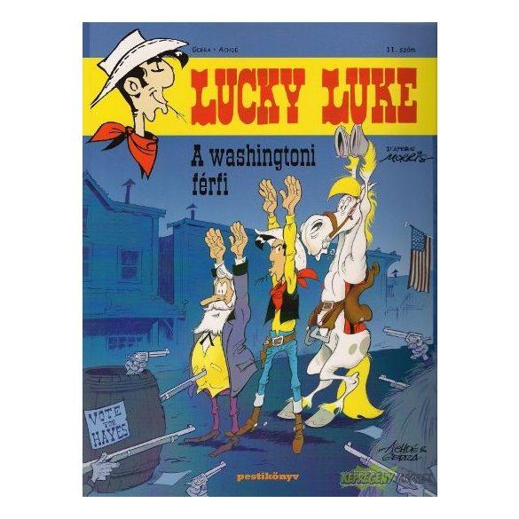 Lucky Luke 11 - A washingtoni férfi