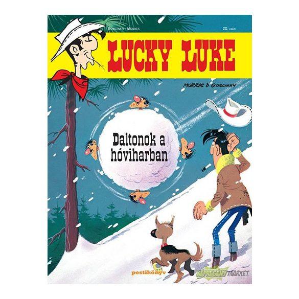 Lucky Luke 20. - Daltonok a hóviharban